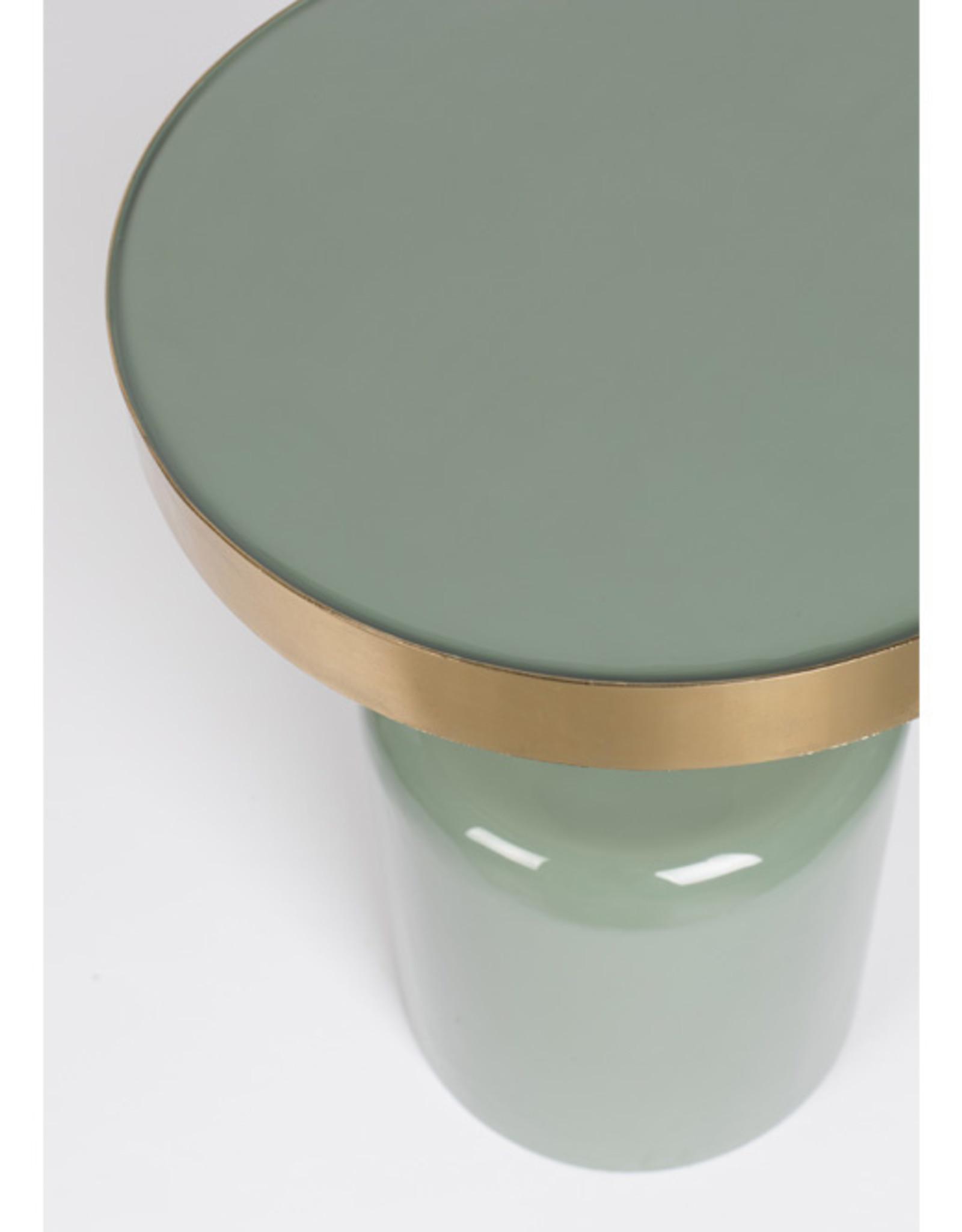 Zuiver Bijzettafel - glam green