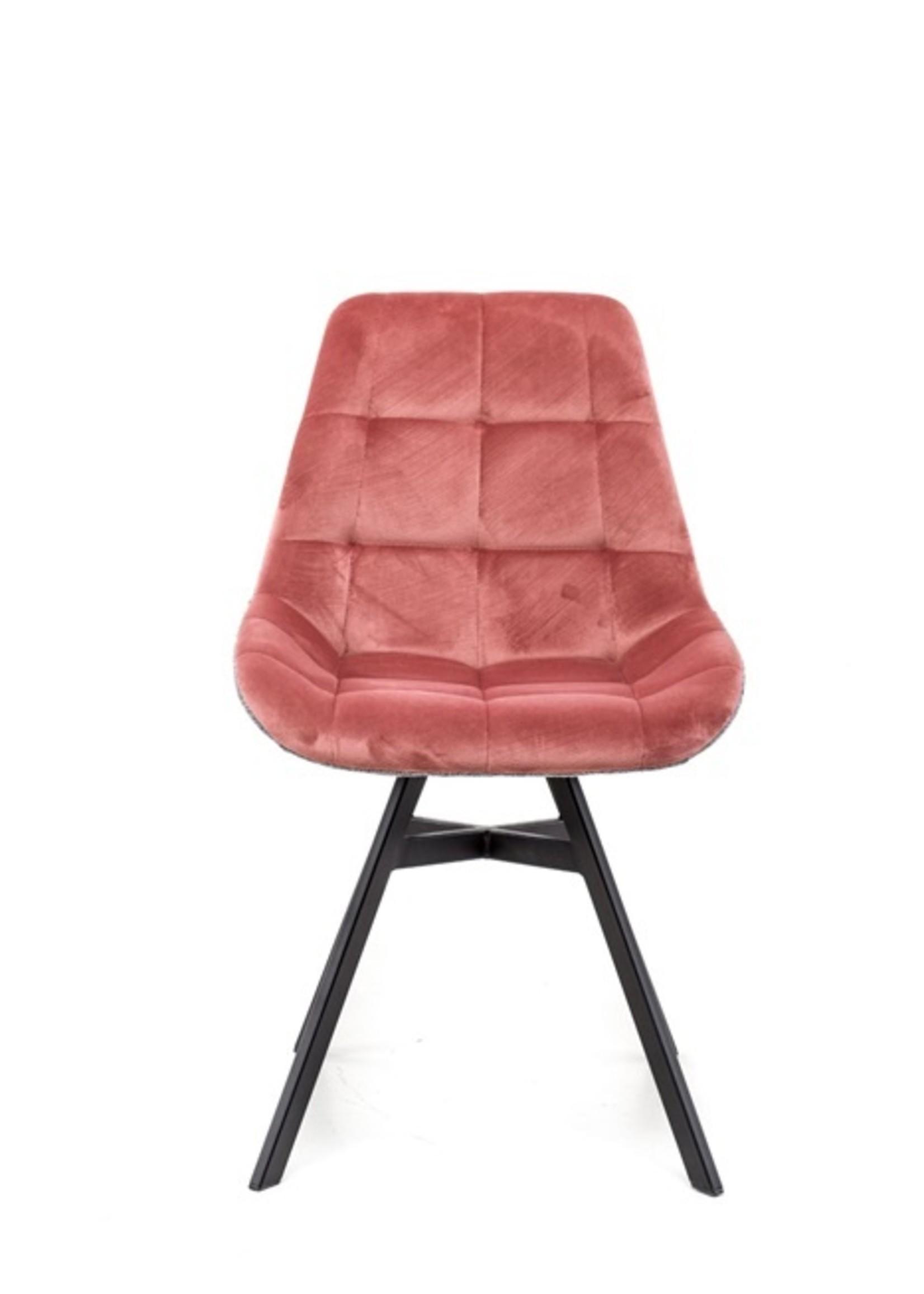 Moods Collection Eetkamerstoel Giulia Monaco pink