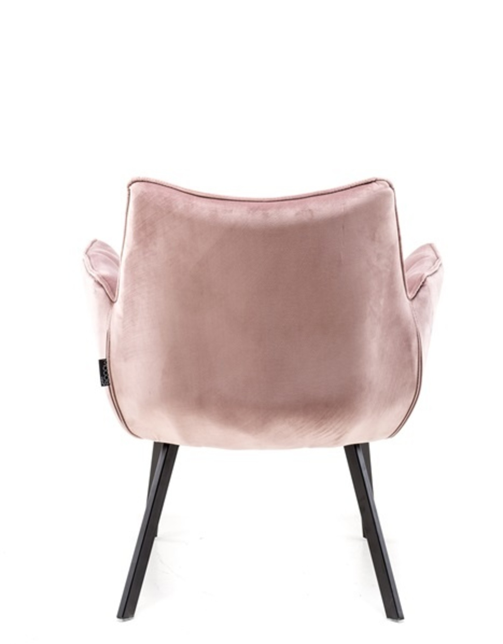 Moods Collection Fauteuil MRS velvet rose