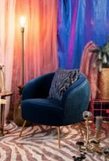 Bold Monkey So Curvy fauteuil royal blue