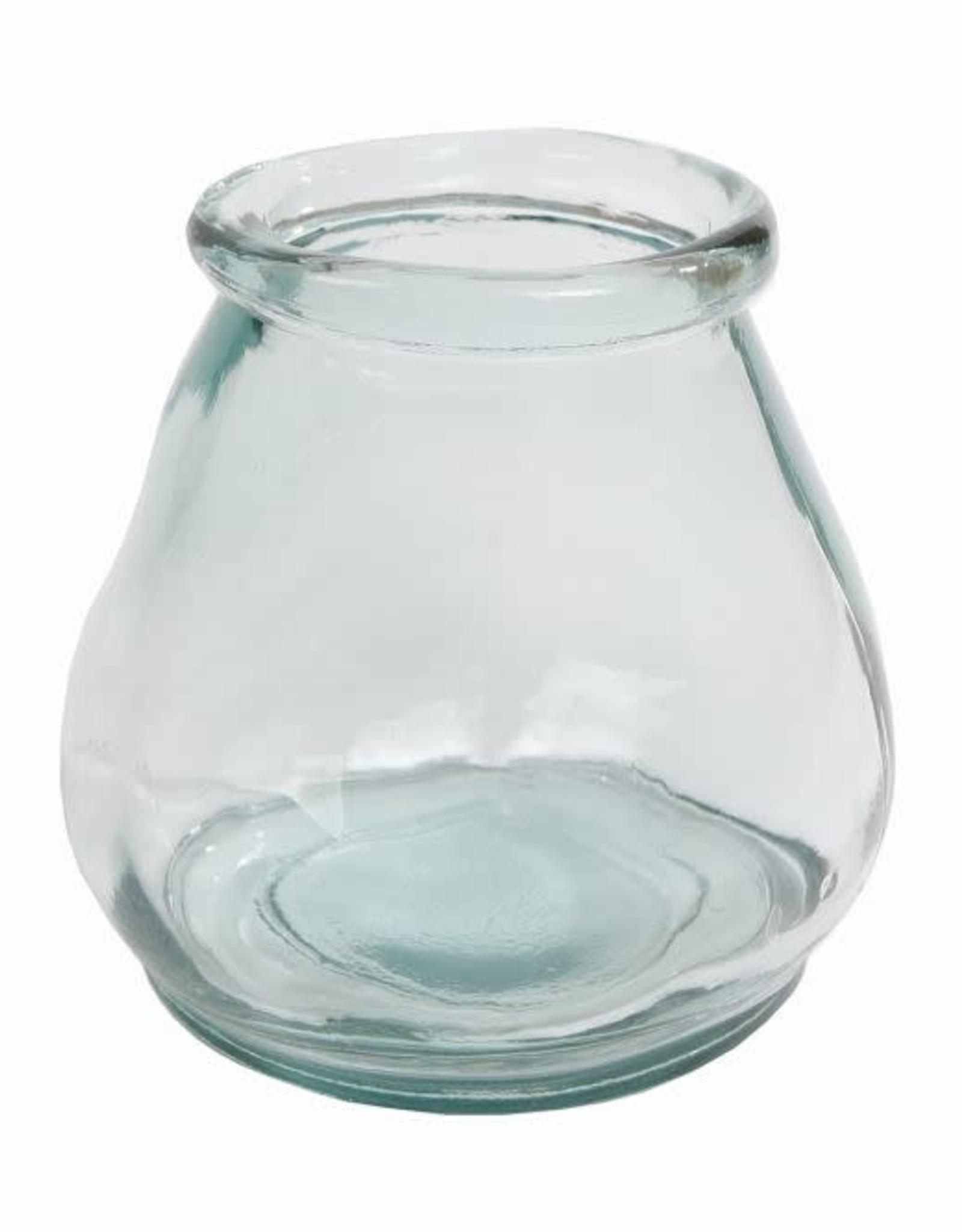 Windlicht Sac helder glas 10x10x10cm