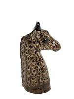 Vaas Giraffe S bruin aardew  11x11x19cm