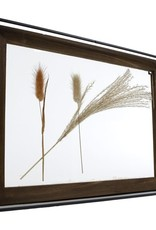 Fotolijst droogbloemen L naturel  hout 38x28x5cm