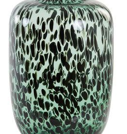 Light & Living Kobala 34x50 glas groen zwart