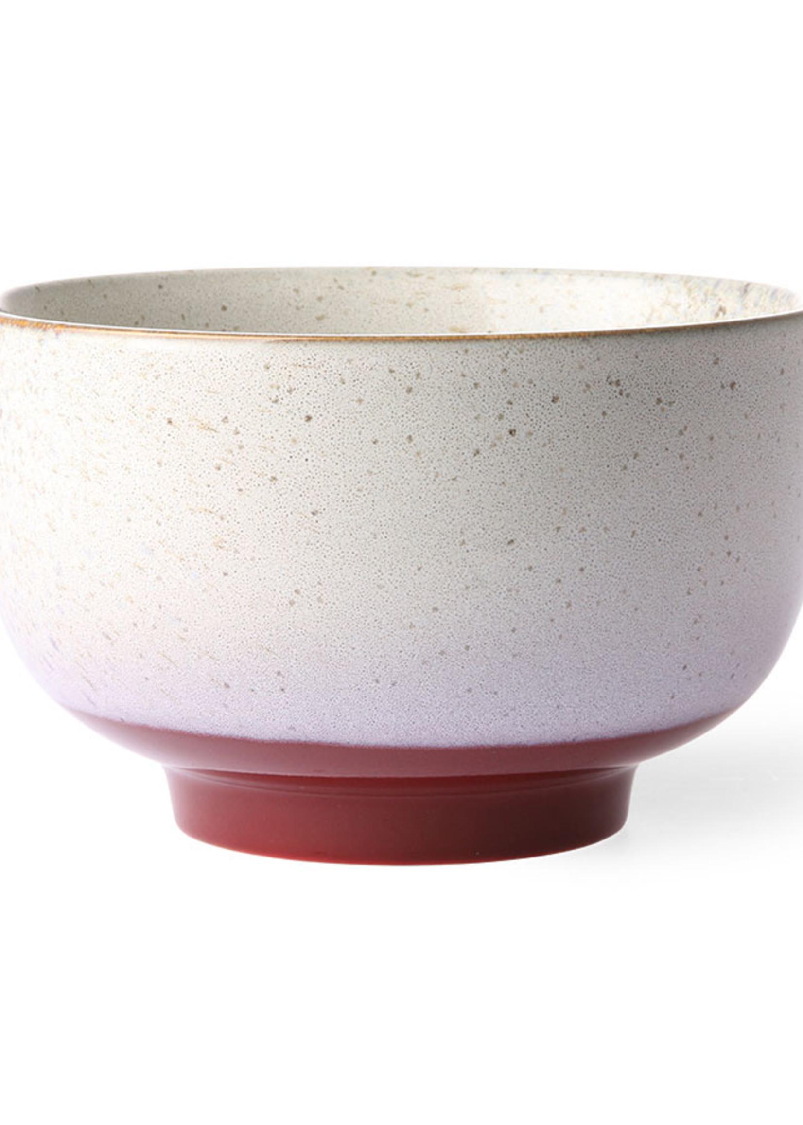 HK living 70's ceramics: noodle bowl frost
