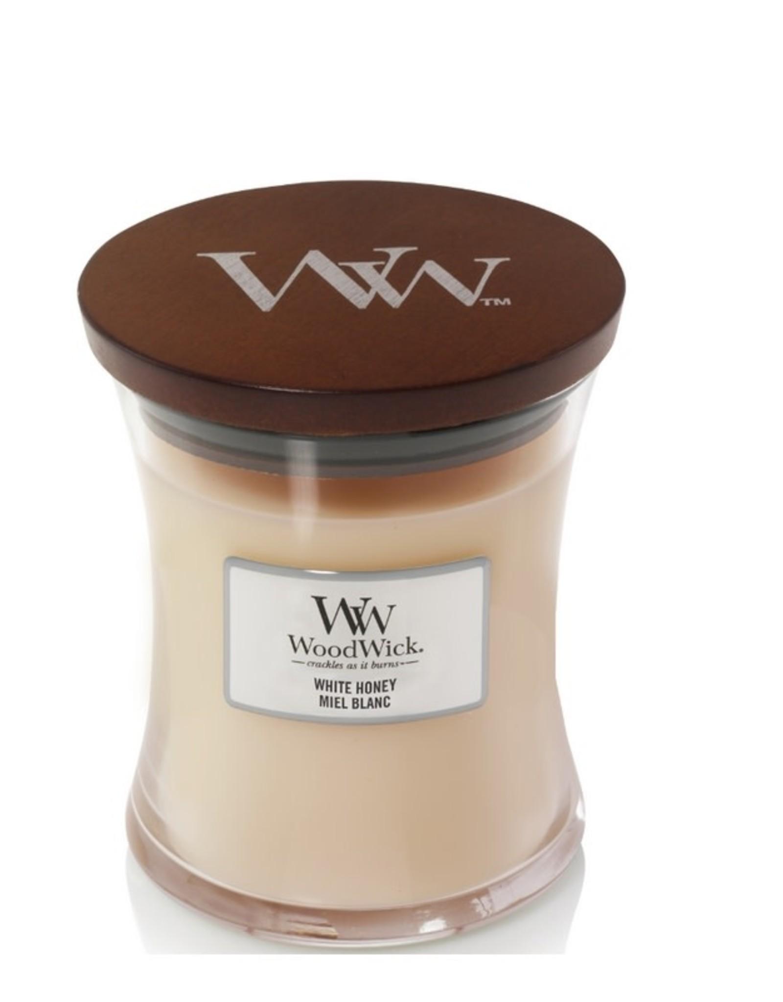 Woodwick Woodwick White Honey Medium Candle