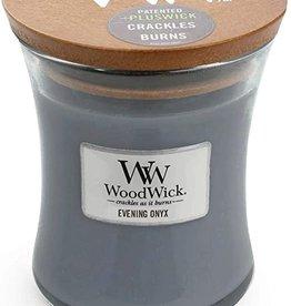 Woodwick WW Evening Onyx Mini Candle