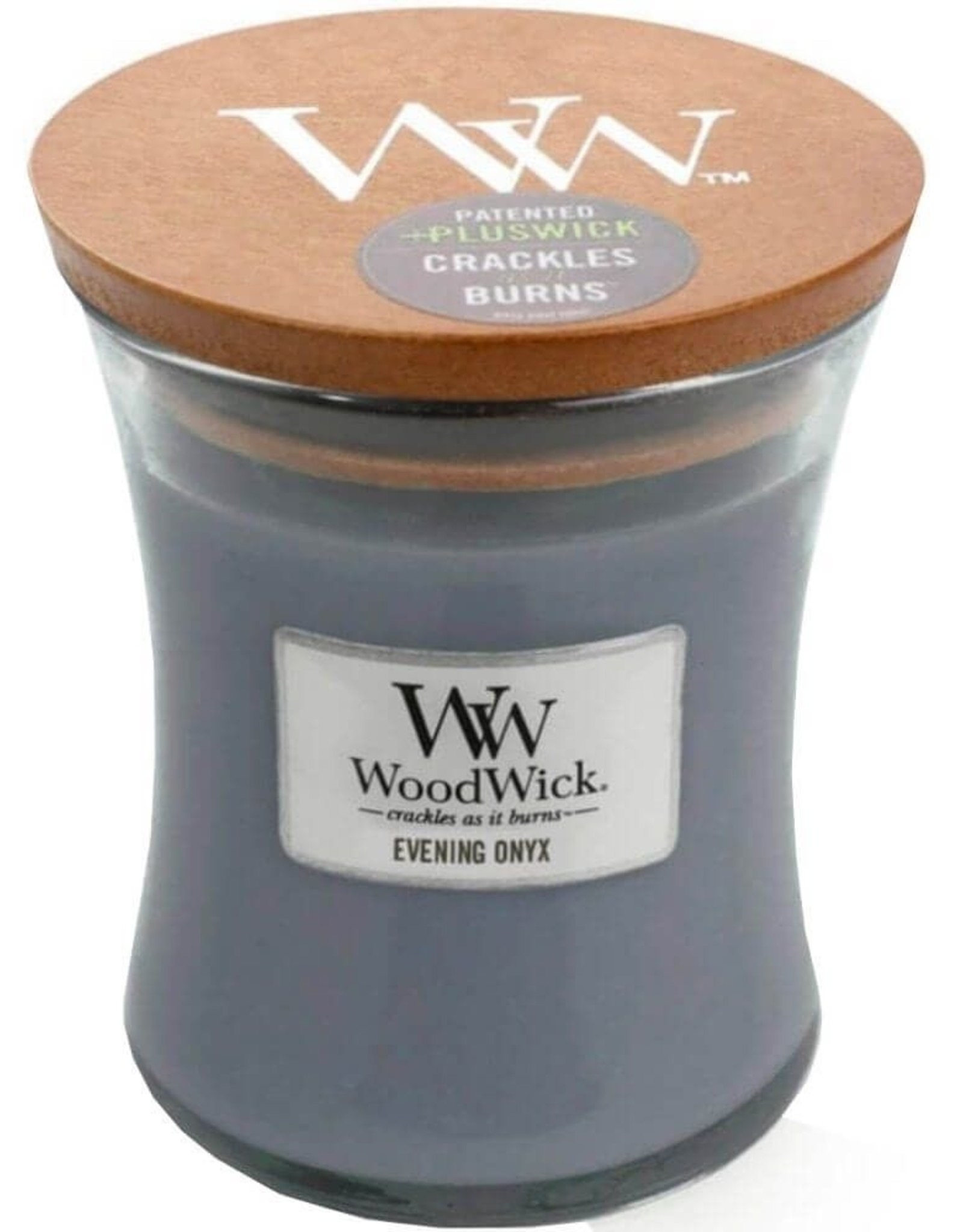 Woodwick WW Evening Onyx Medium Candle