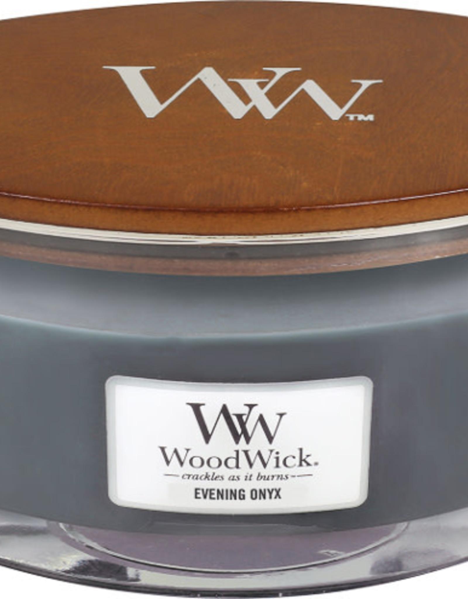 Woodwick WW Evening Onyx Ellipse Candle