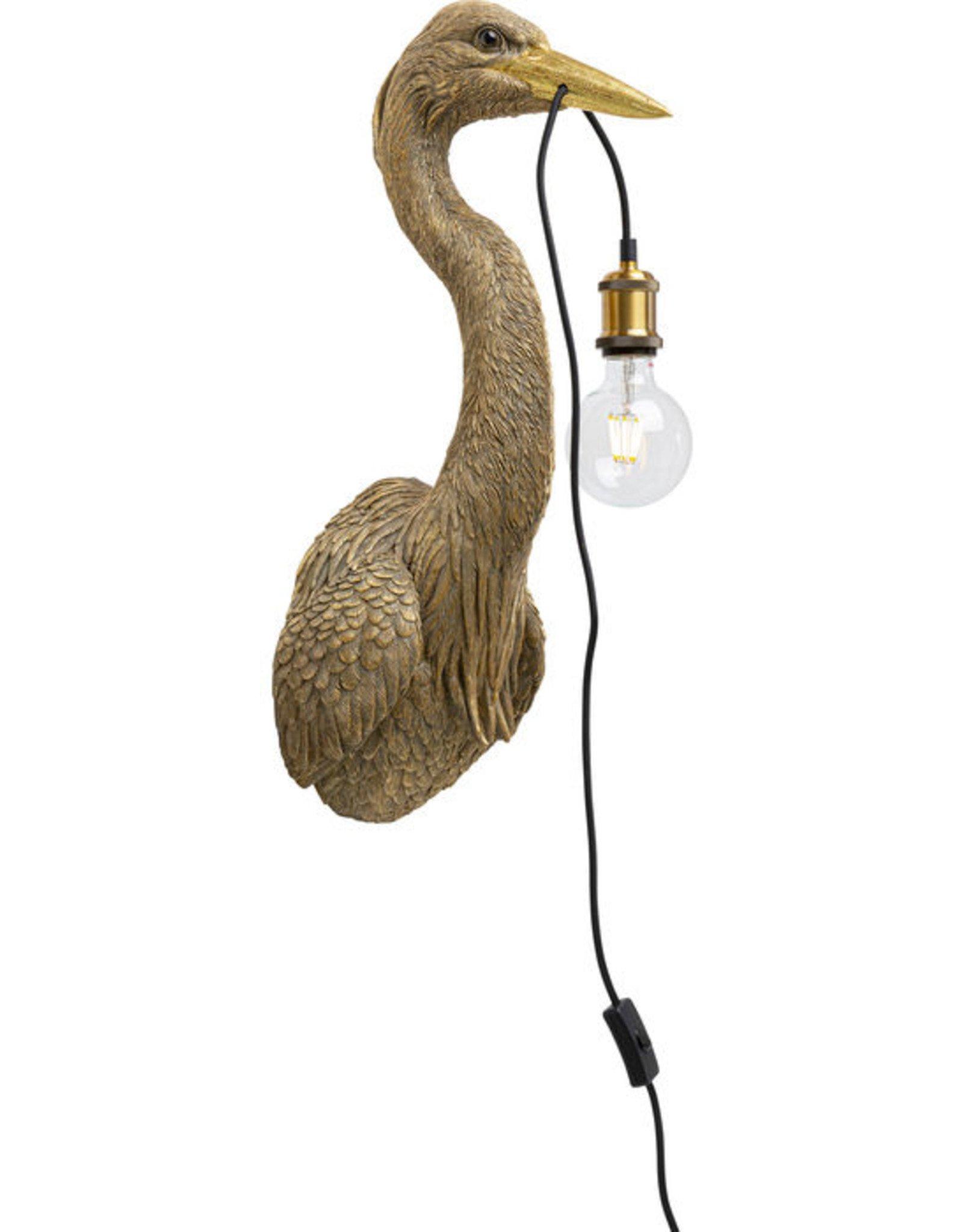 Kare Design Wall lamp animal Heron