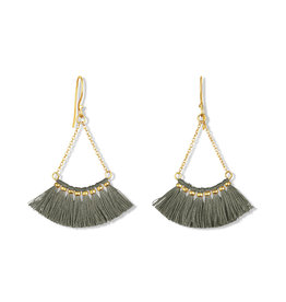 By Bar Amsterdam PD Romee earring antraciet