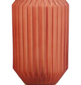 Light & Living Tafellamp LED Ø15x27 cm IVOT glas mat terra