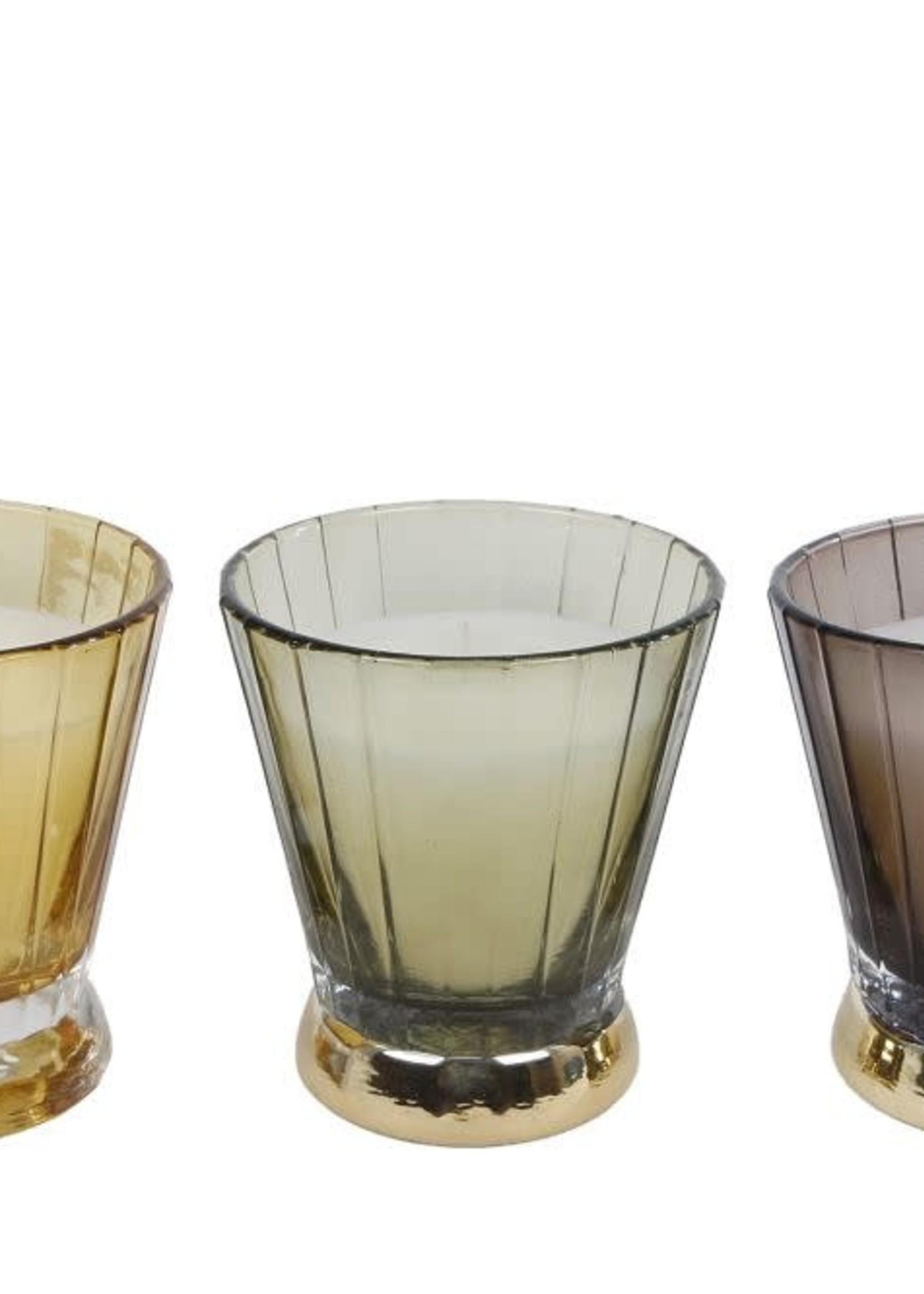 Kaars Mia a3 glas 7,5x7,5x8,8