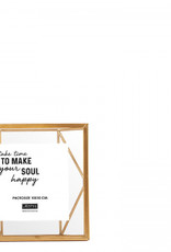 Lifestyle Nuri wall photoframe gold 20x20cm