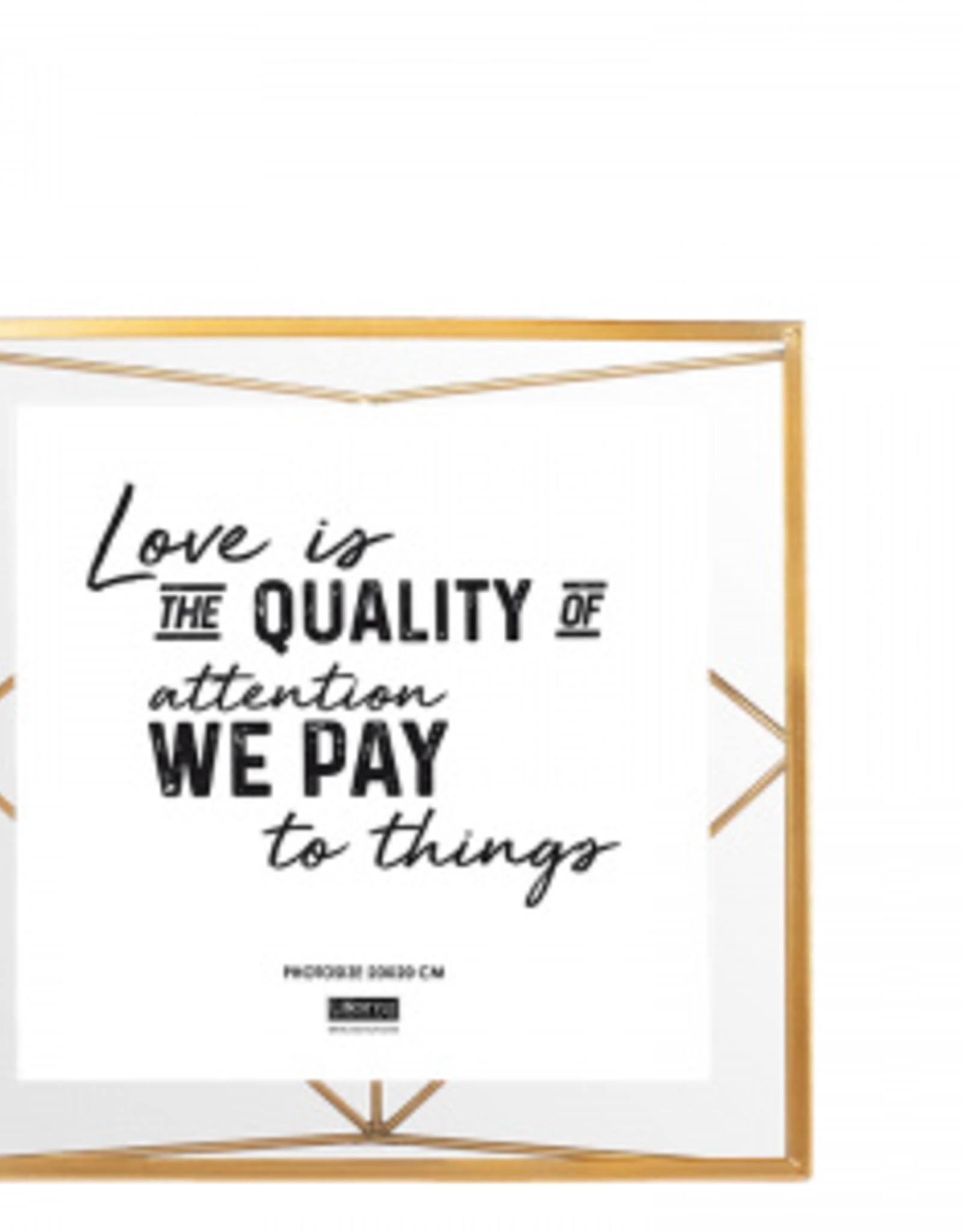 Lifestyle Nuri Wall photoframe gold 10x15cm