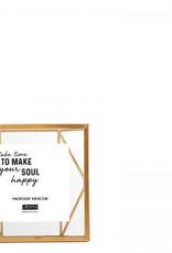 Lifestyle Nuri wall photoframe gold 10x10cm