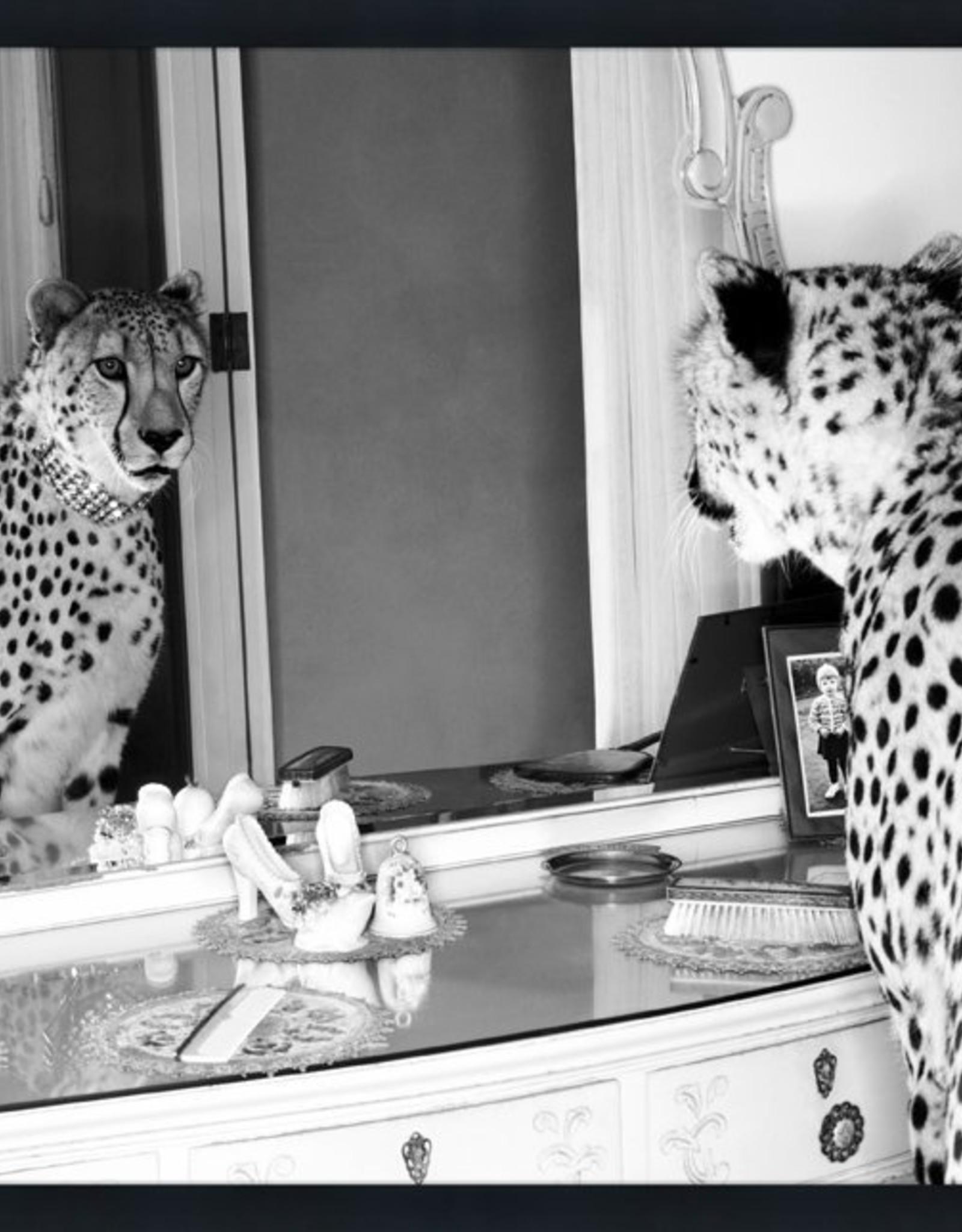 MondiArt Cheetah looking mirror 60/80