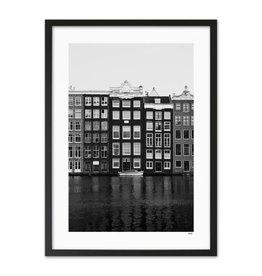 WIJCK Amsterdam - Damrak 40x50