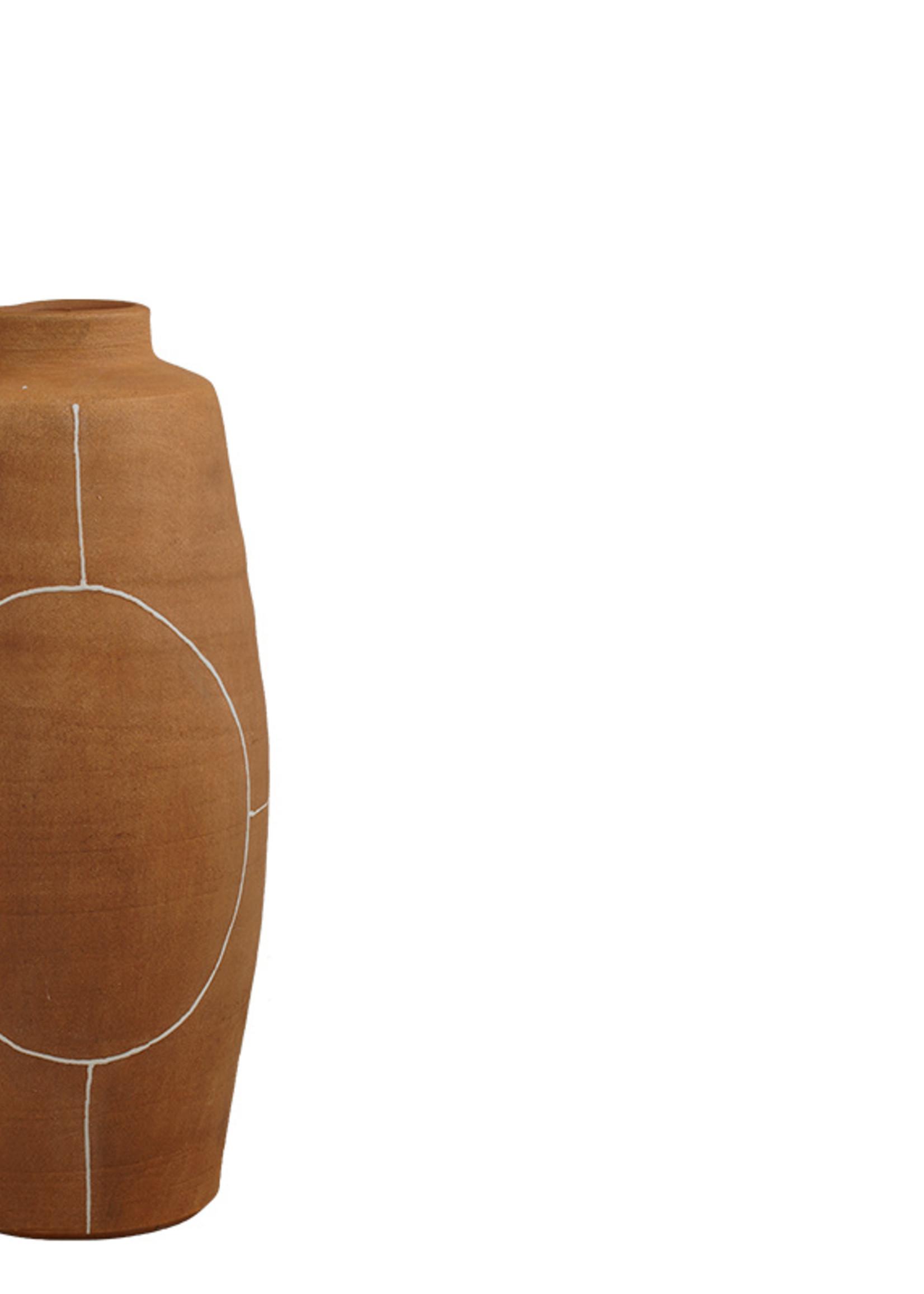 Lifestyle Koto vase brown