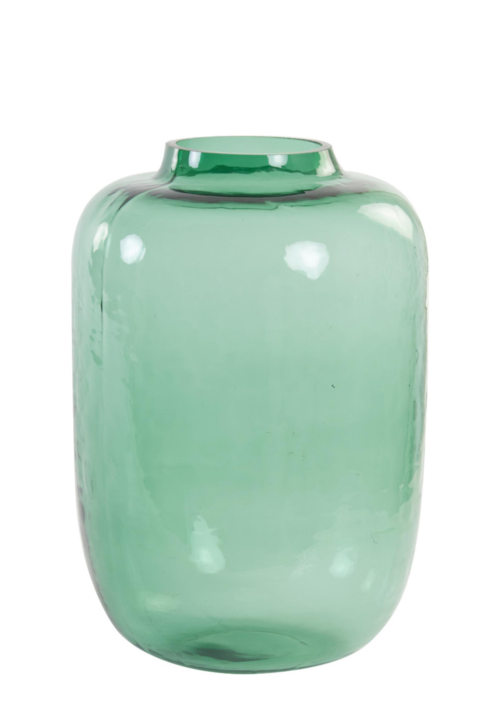 Light & Living vaas kobala glas groen 29x42cm