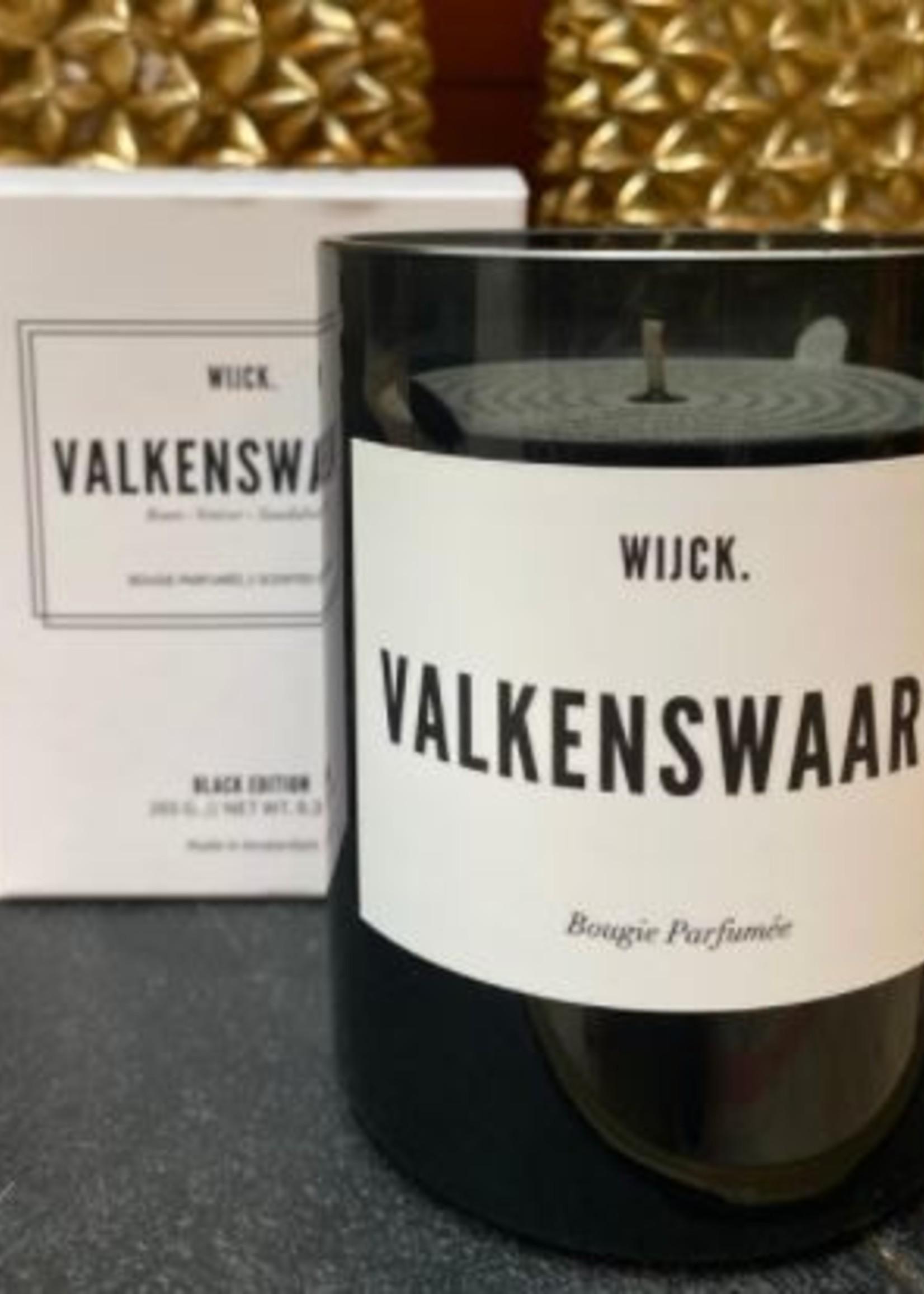 WIJCK Valkenswaard Candle Black