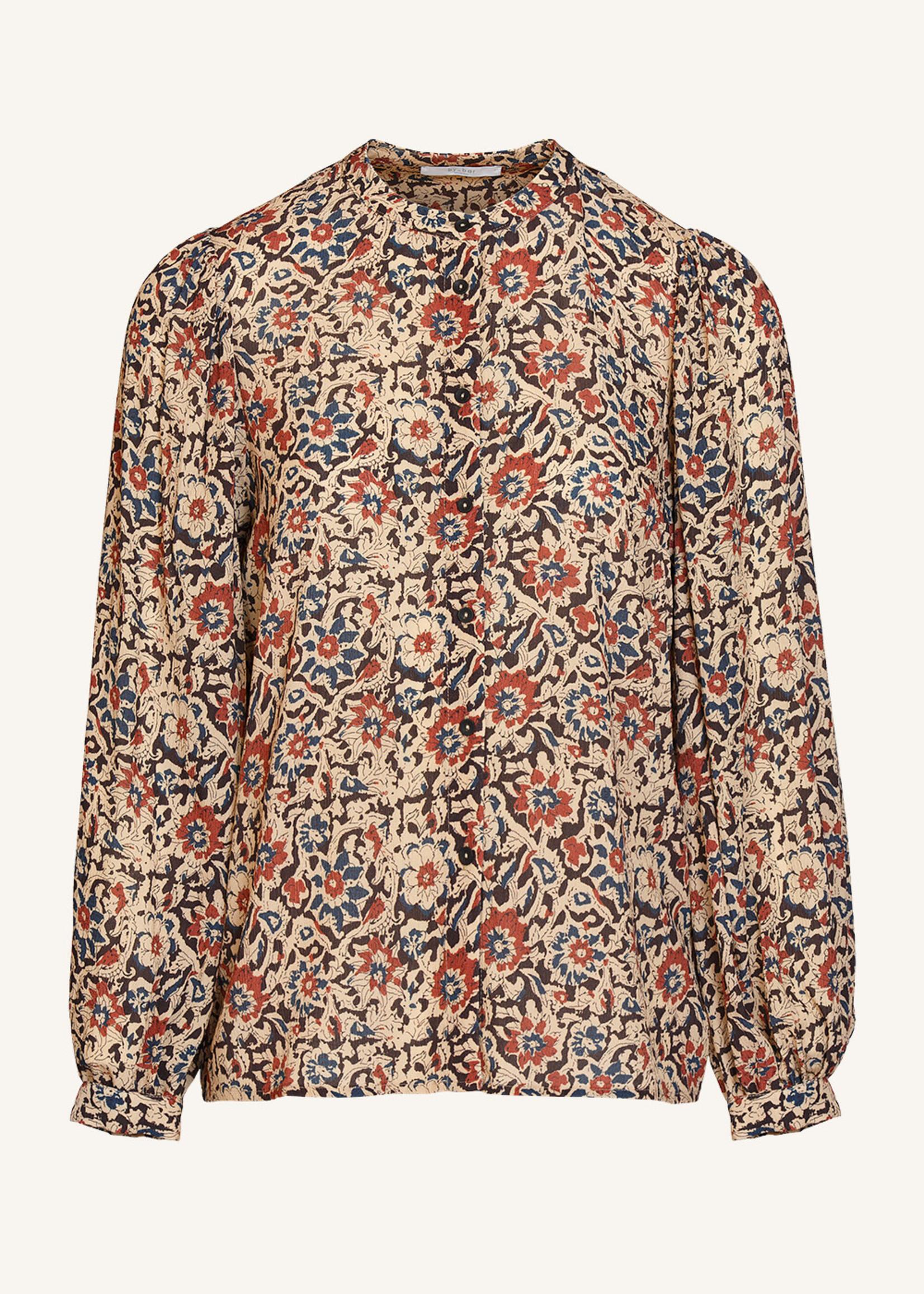 By Bar Amsterdam Rikki autumn flower blouse