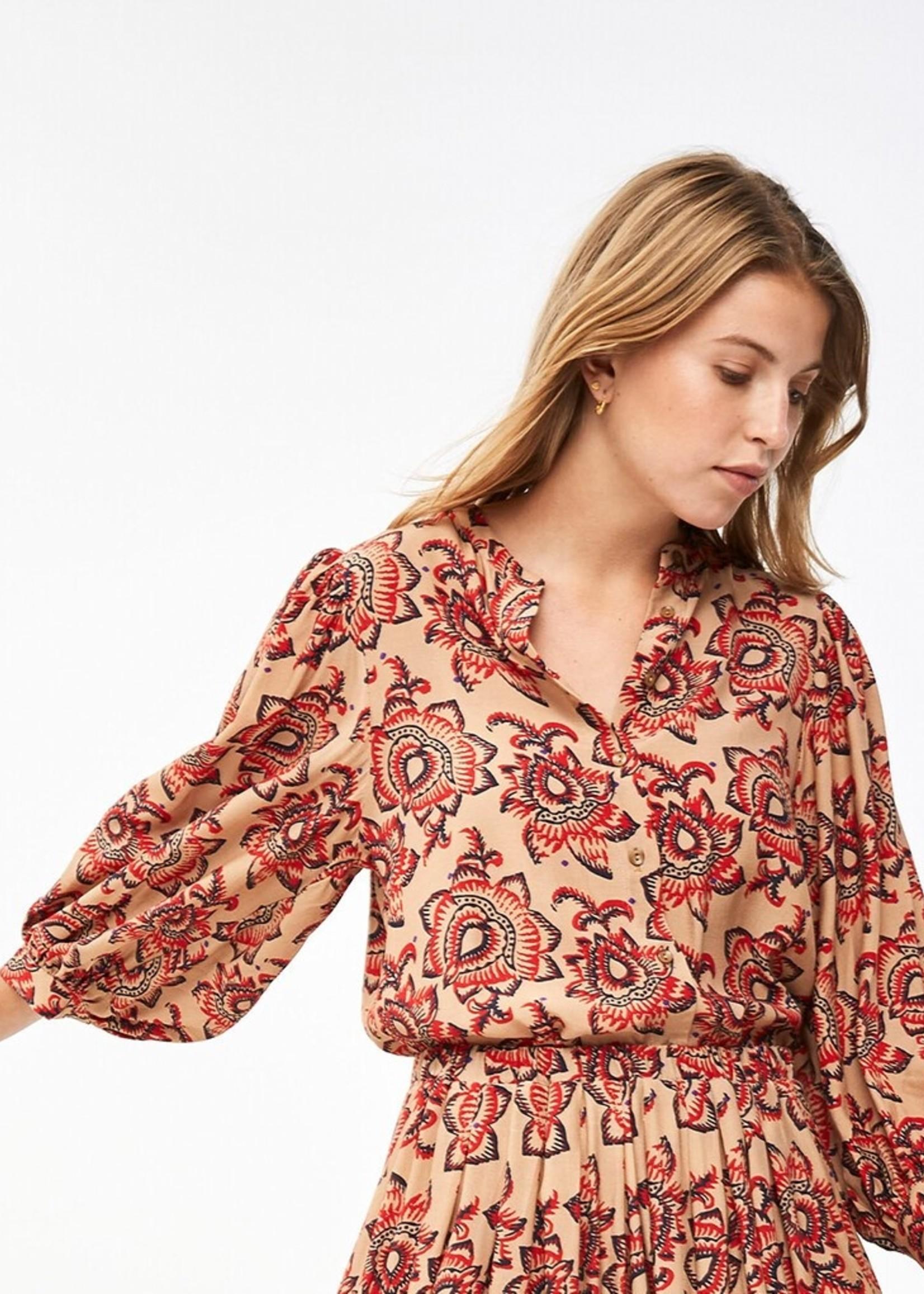 By Bar Amsterdam Rikki Lotus blouse