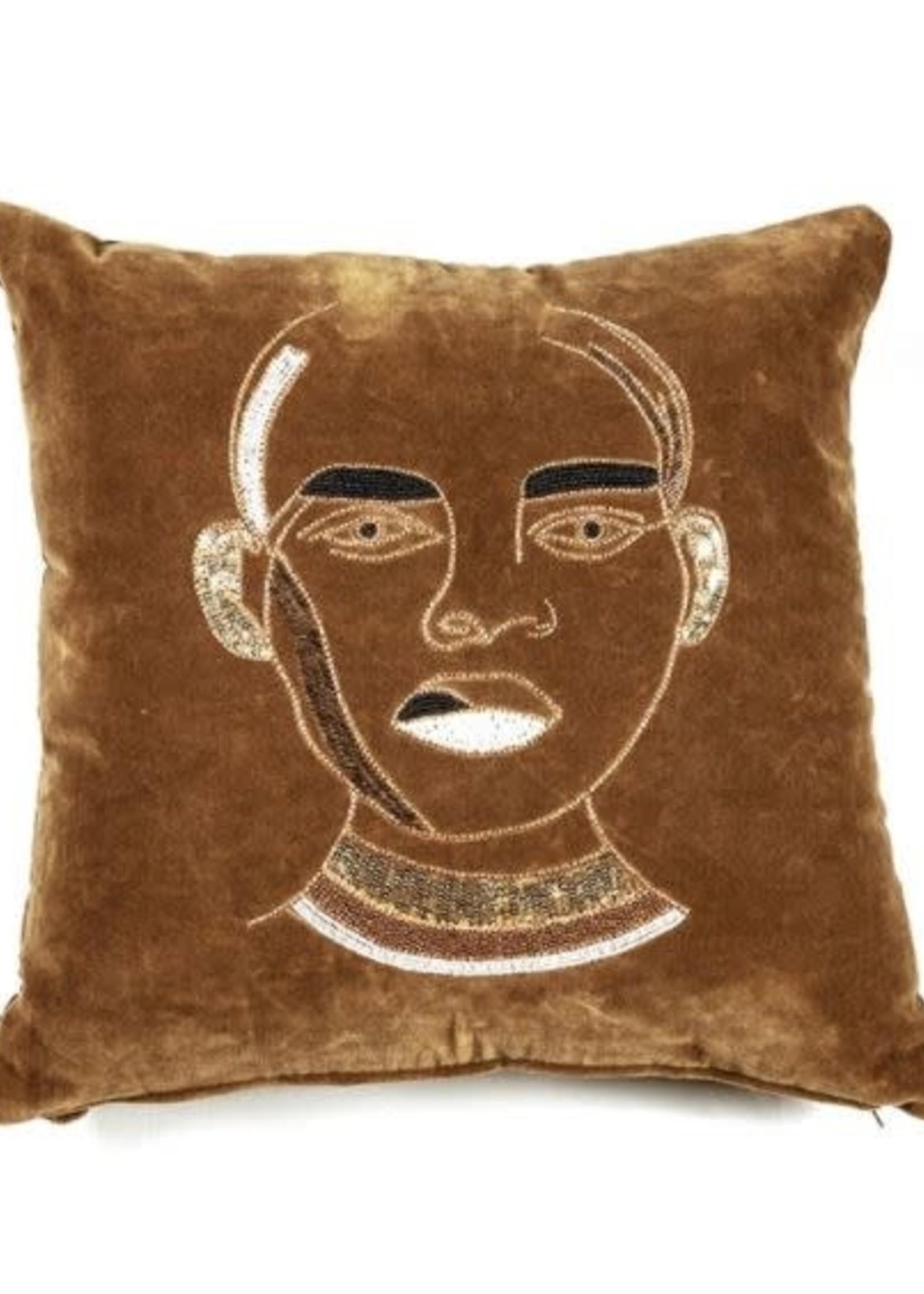 By Boo Dax Rust cushion 50x50cm