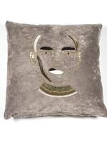 By Boo Dax Grey cushion 50x50cm