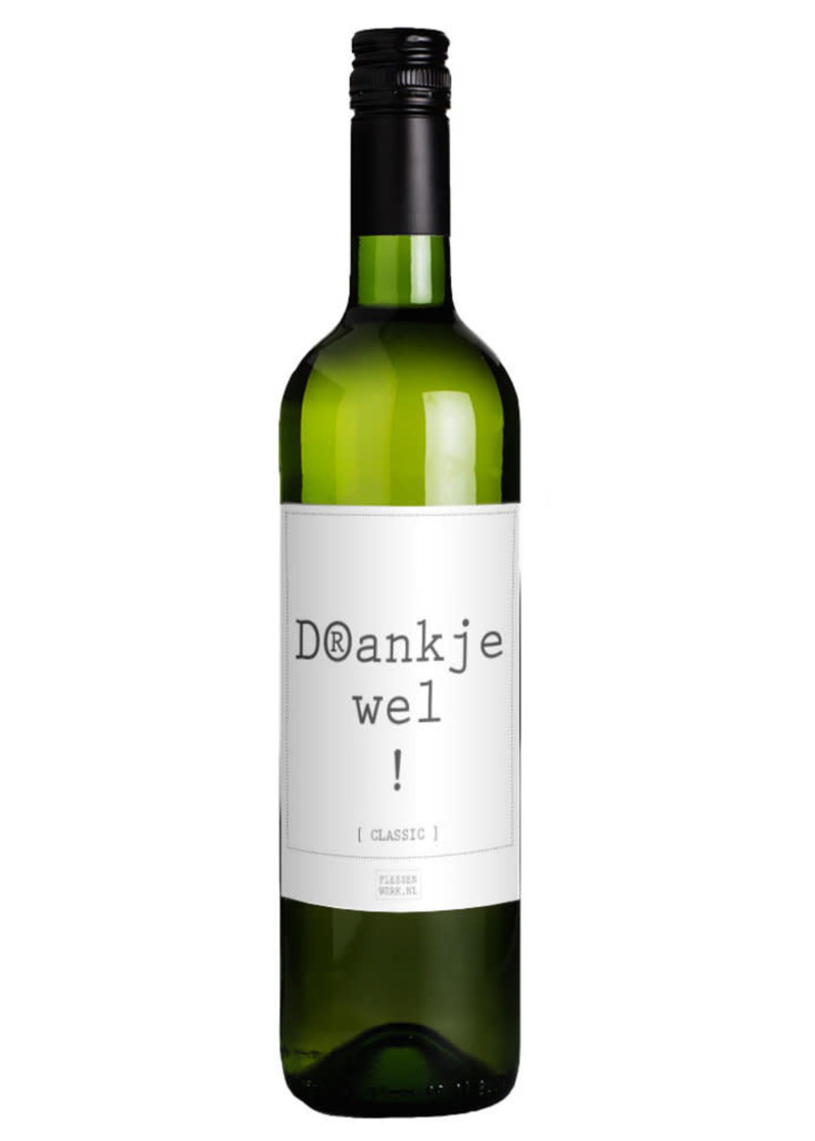 Geven is Leuker DRANKJEWEL wijn wit