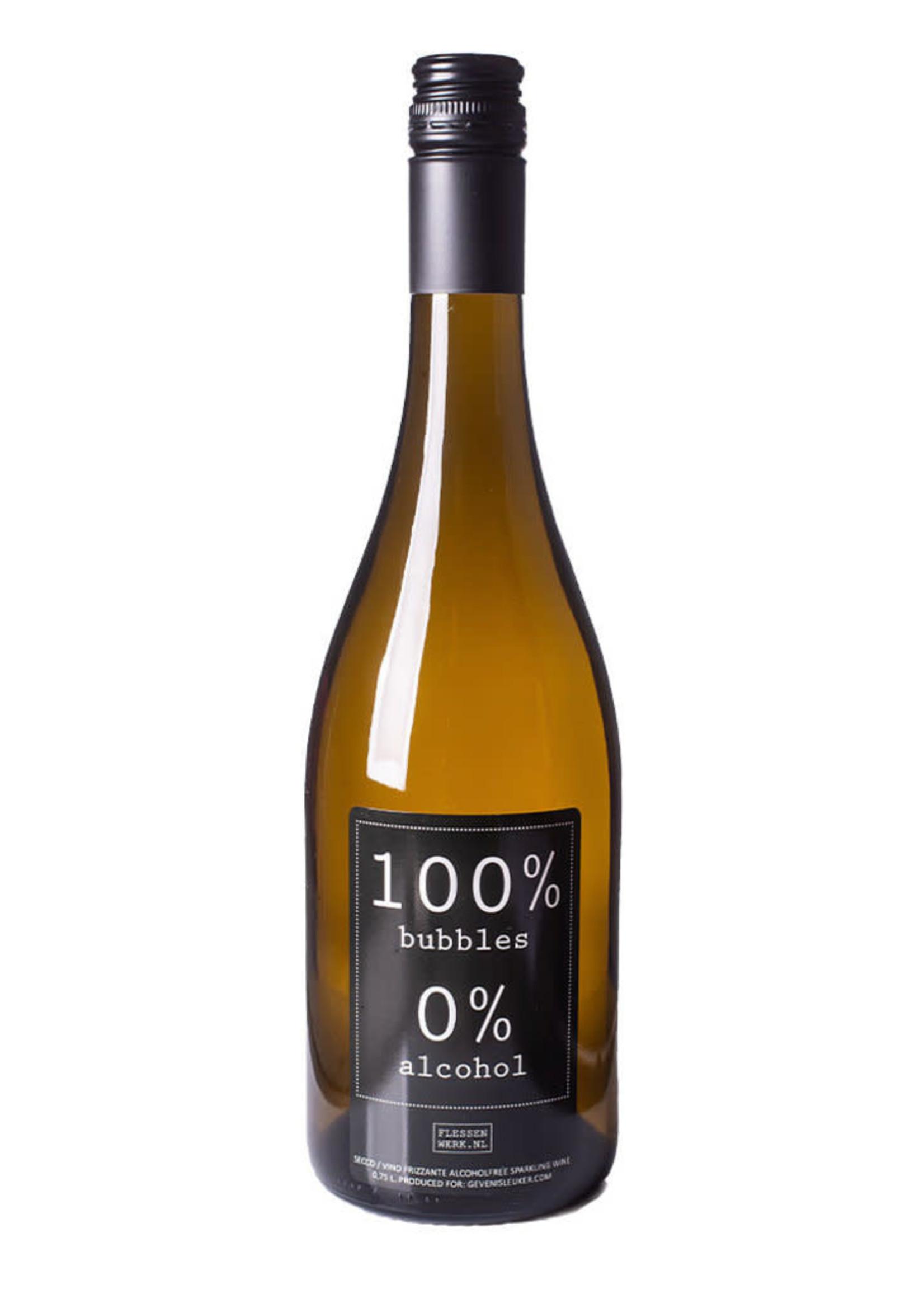Geven is Leuker 100 % BUBBLES - 0 % ALCOHOL