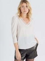 Sweewe Sweewe blouse wit 55605