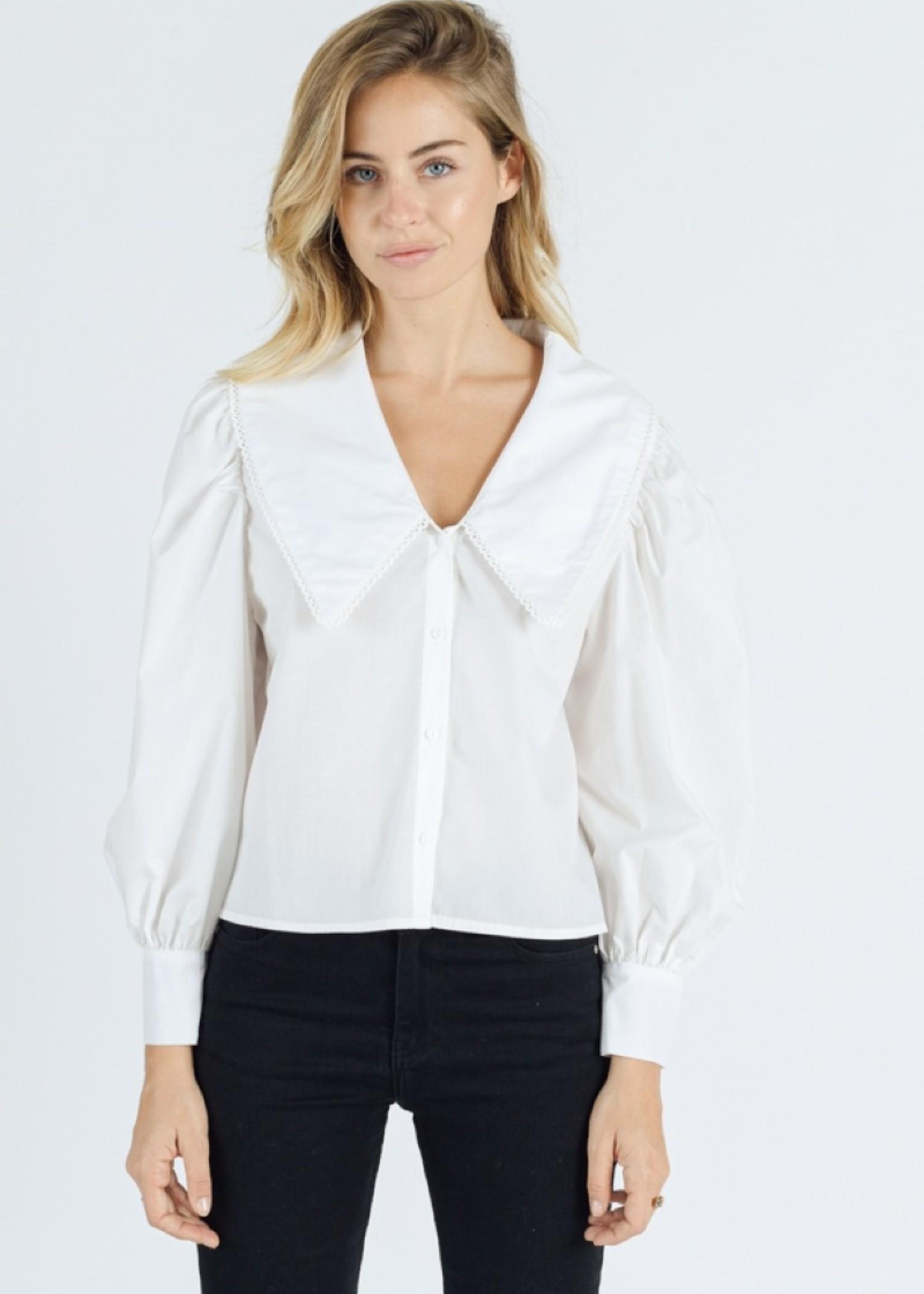 Sweewe Sweewe blouse wit 59297