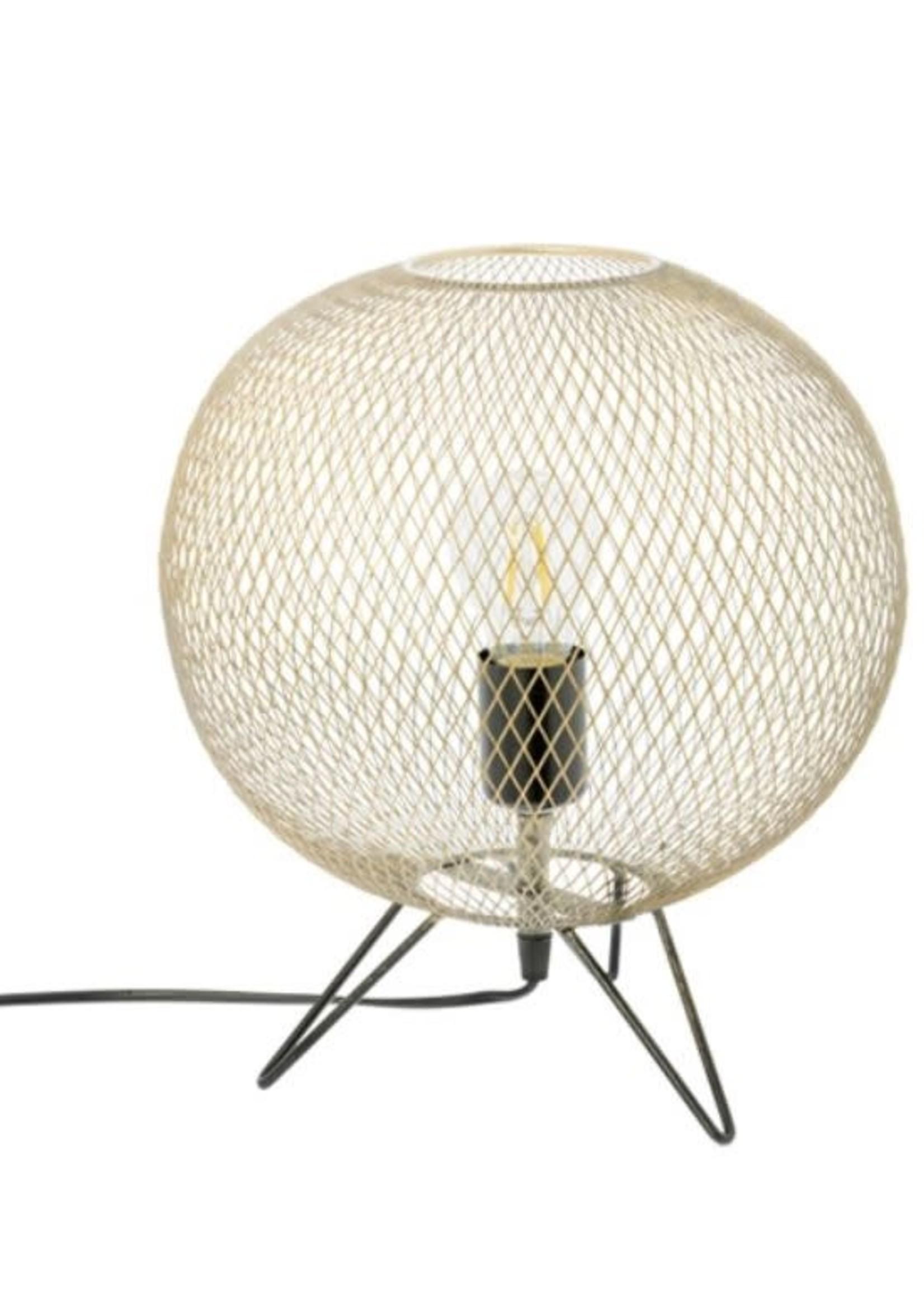 Riverdale Staande lamp Chloe goud 34cm
