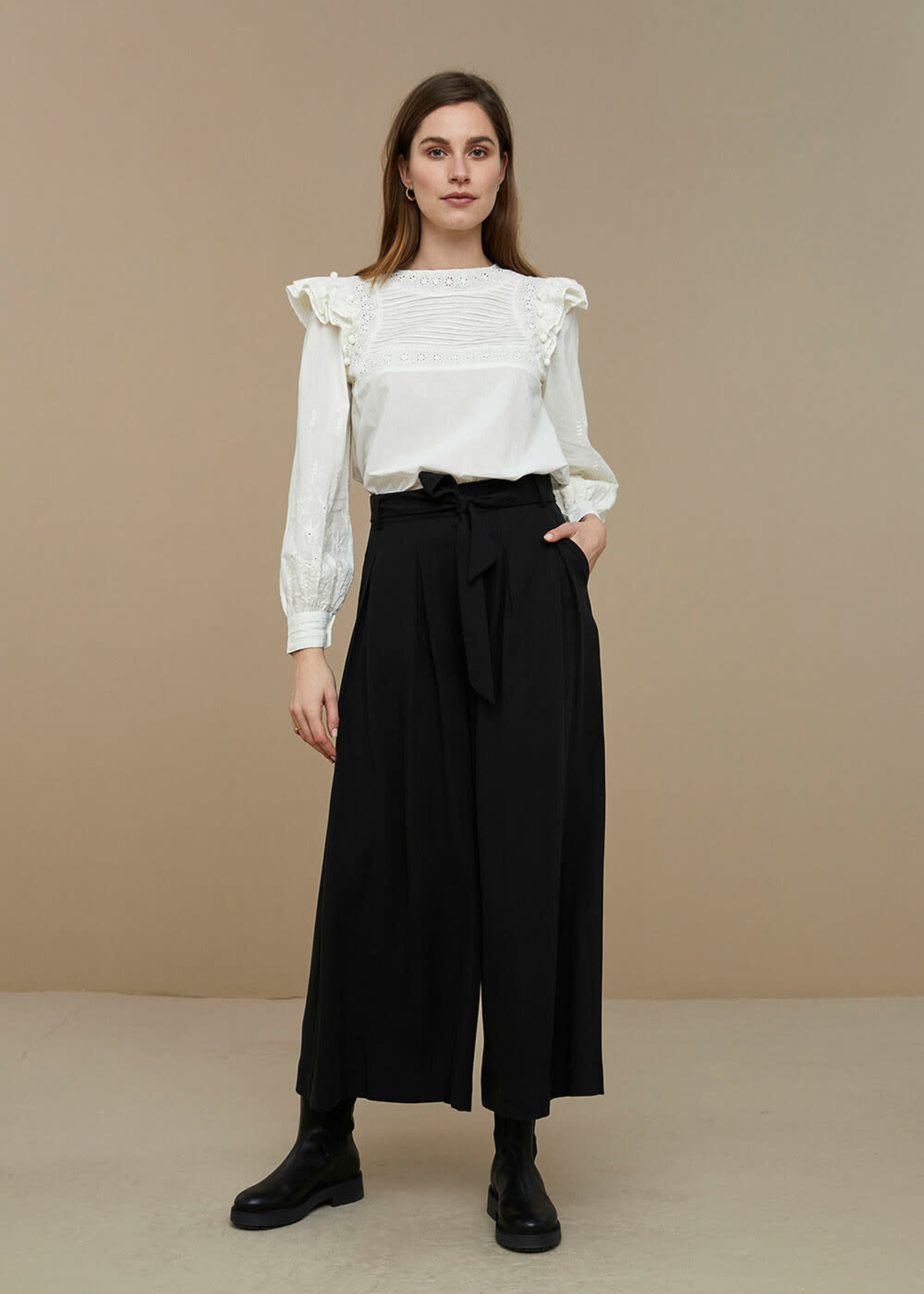 By Bar Amsterdam Demi blouse - Off white