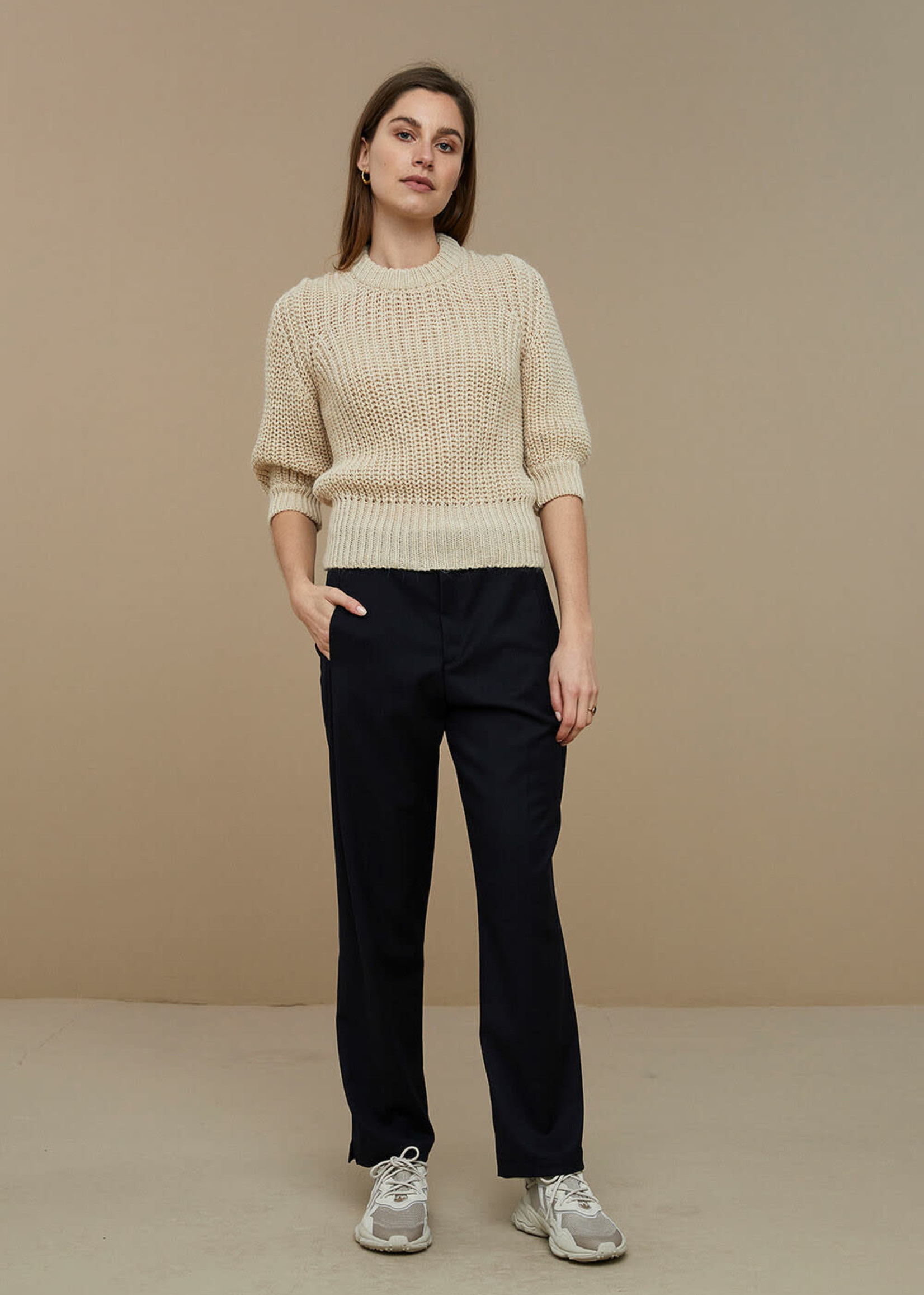 By Bar Amsterdam Loes pullover - Sand