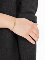 Zusss Armband met chloriet hangertje goud