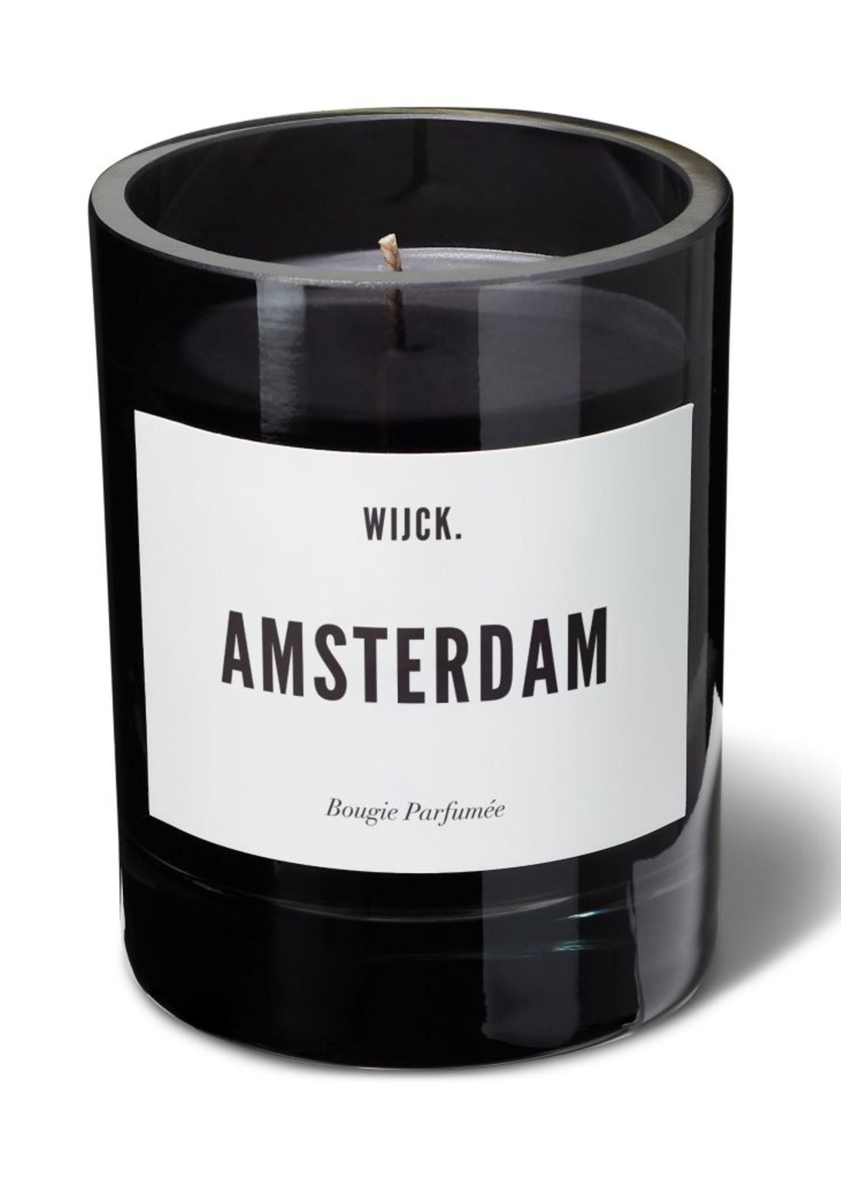 WIJCK Amsterdam Candle Black