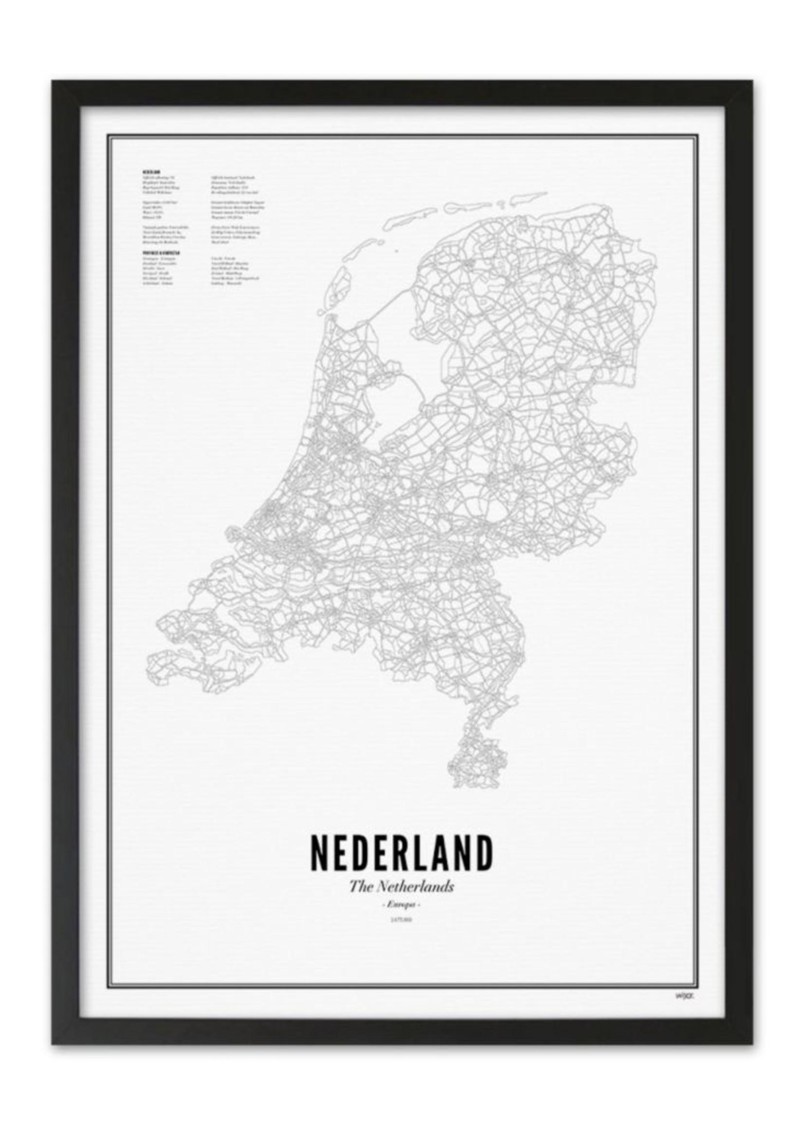 WIJCK Nederland 50 x 70 cm  Koker
