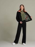 Pom Amsterdam Pants - Flower Love black