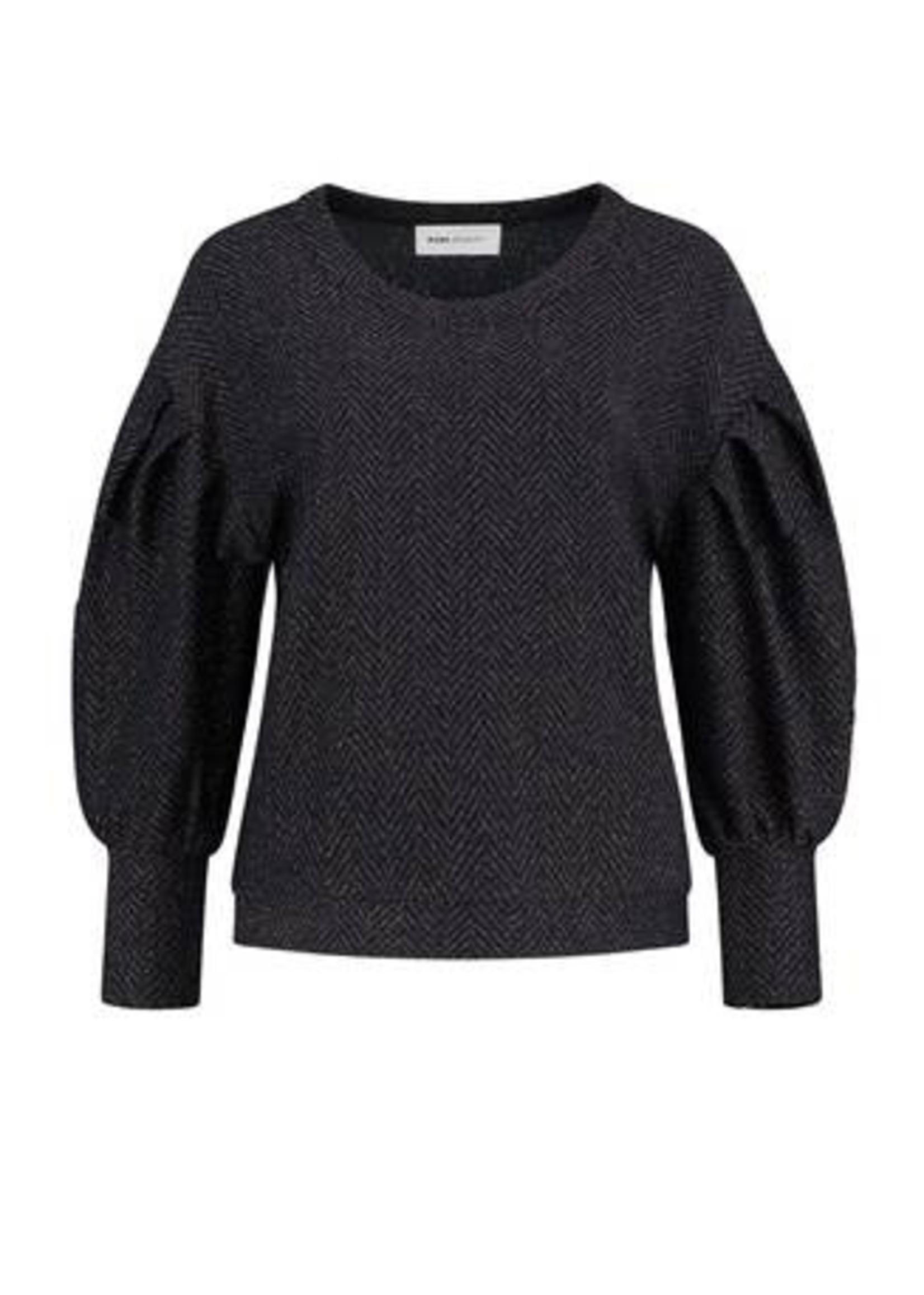 Pom Amsterdam Sweater - Blue Shimmer