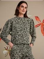 Pom Amsterdam Sweater - Khaki Green Shimmer