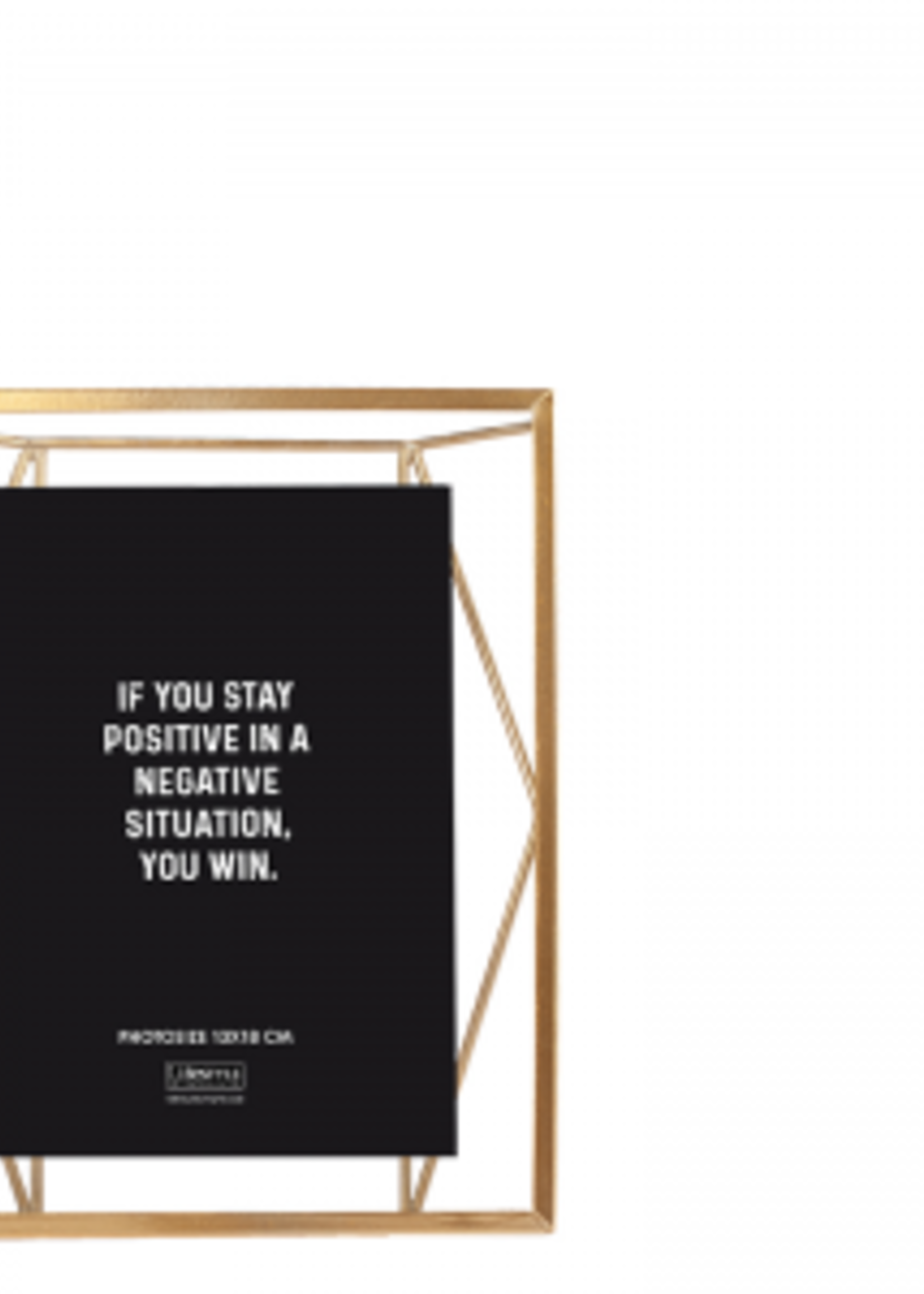 Lifestyle Nuri Wall Photoframe Gold 13X18 CM