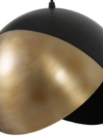 Light & Living Hanglamp Namco steel and gold