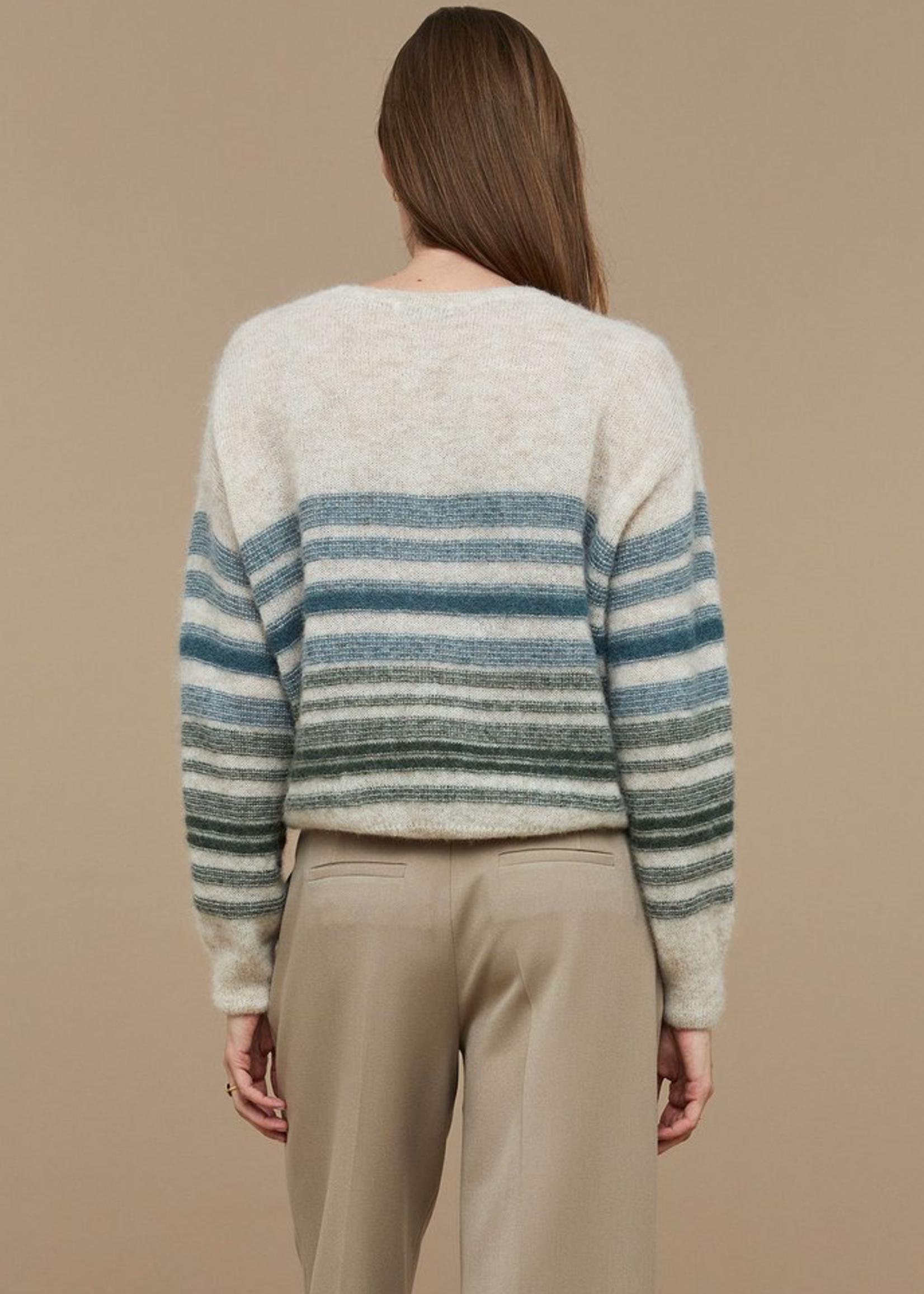 By Bar Amsterdam Liz stripe pullover
