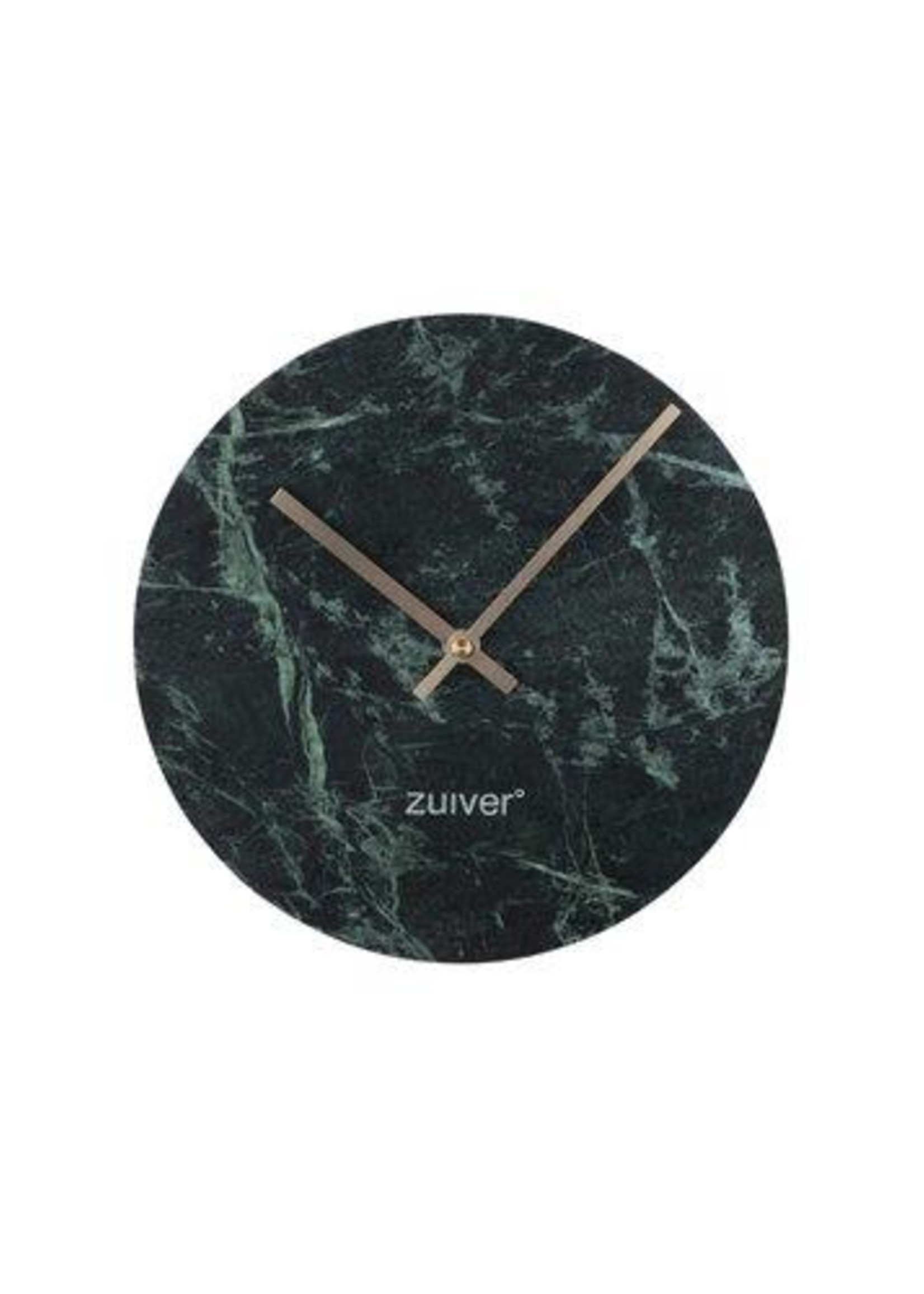 Zuiver Marble wall time clock green