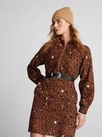 Pom Amsterdam Dress City Charms Brown