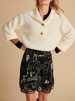 Pom Amsterdam Pullover Ivory Ecu