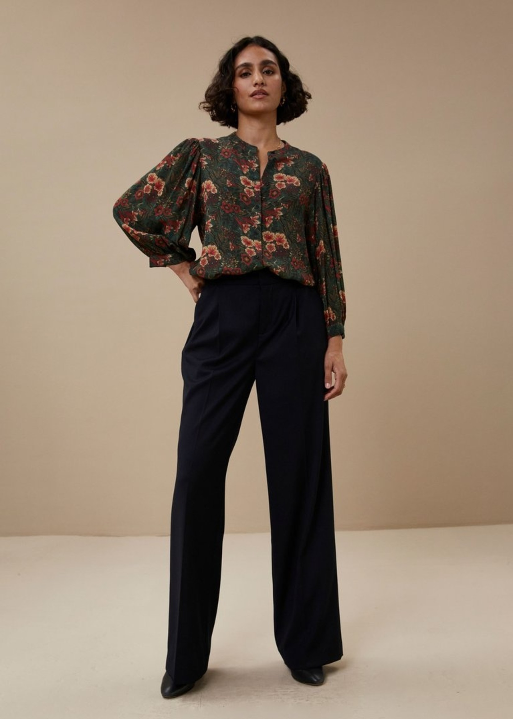 By Bar Amsterdam Rikkie tropic blouse