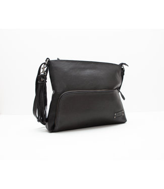 Bag2Bag tas Elsa zwart